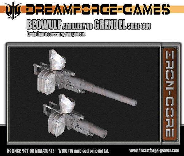 Beowulf/Grendel Leviathan Left Handed- 15mm Leviathan Accessory Weapon