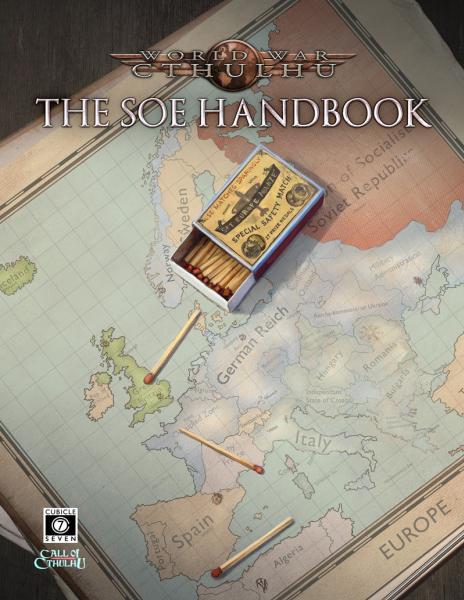 World War Cthulhu: SOE Handbook