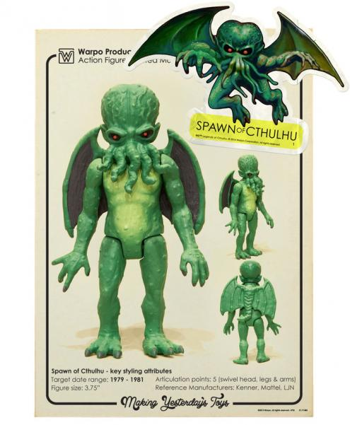 Warpo's Legends of Cthulhu: Spawn of Cthulhu (1 Figure)