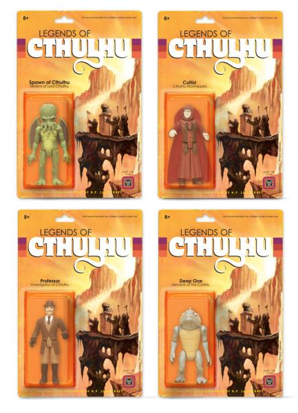 Warpo's Legends of Cthulhu: Complete Set (All 4 Figures)