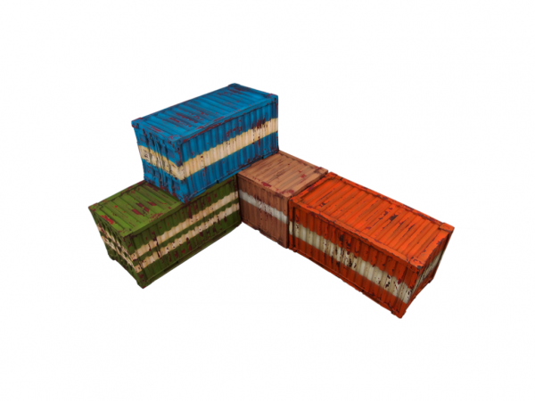 Infinity Sci-Fi Terrain: Containers (4)