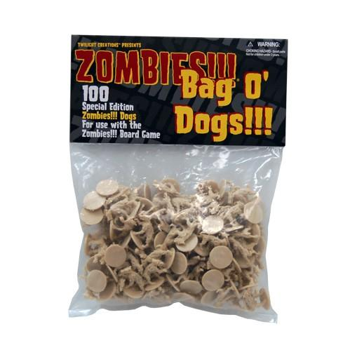 Bag O Zombie Dogs (Plastic) [100]