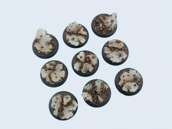 Battle Bases: Ruins Bases, WRound 30mm (5)