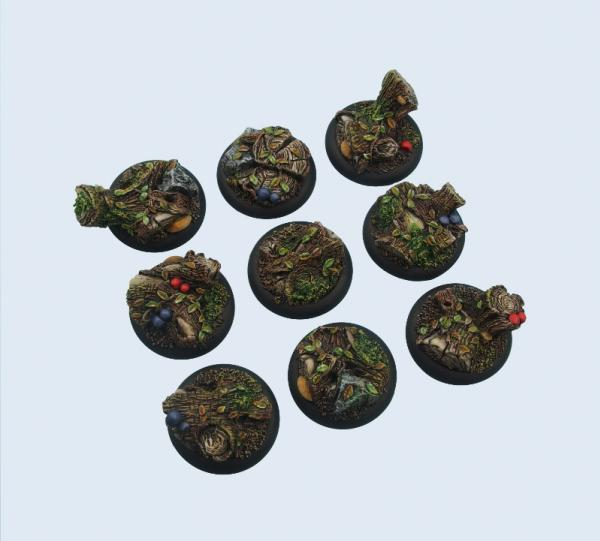 Battle Bases: Forest Bases, Wround30mm (5)