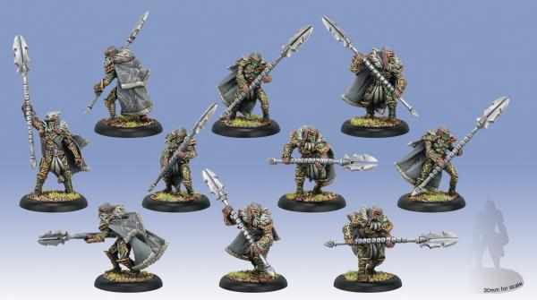 Hordes: (Circle Orboros) Reeves/Wolves Of Orboros (10) (plastic)