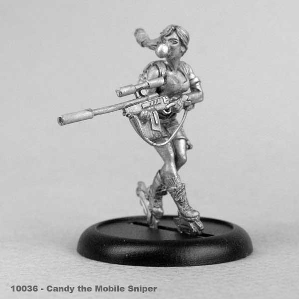 Bombshell Miniatures: Candy the Mobile Sniper