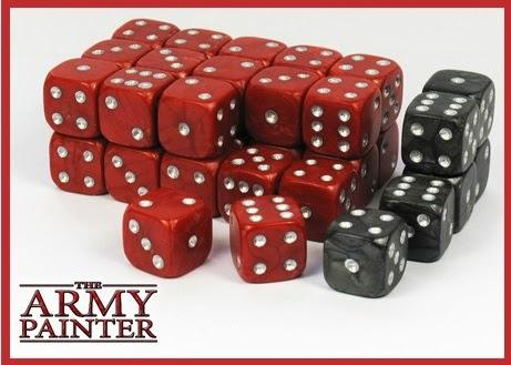 The Army Painter: Wargaming Dice - Red