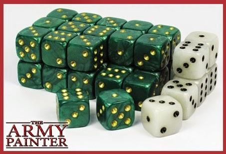 The Army Painter: Wargaming Dice - Green