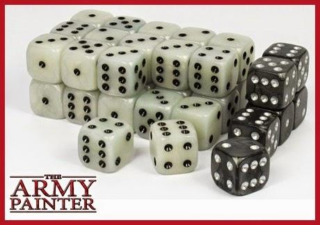 The Army Painter: Wargaming Dice - White