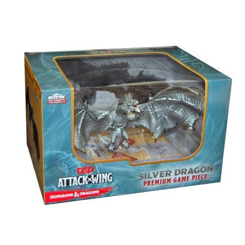 Premium Silver Dragon Figure