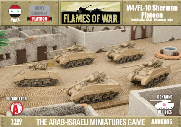 Flames Of War (Arab/Israeli War): (Arab) M4/FL10 Sherman