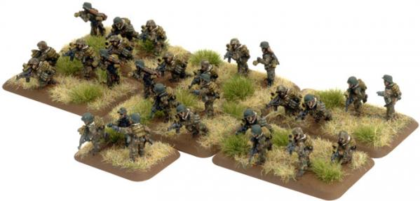 Flames of War German:  Panzersturm Platoon