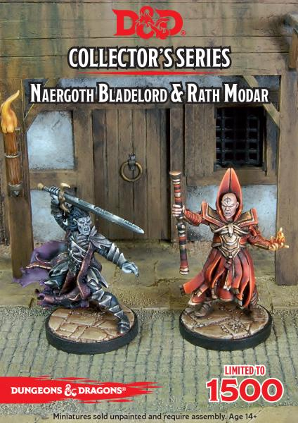 D&D Collector's Series: Naergoth Bladelord & Rath Modar