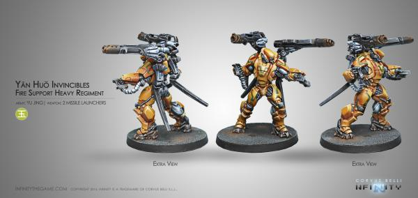 Infinity (#508) Yu Jing: Invincibles (2 Missile Launchers)