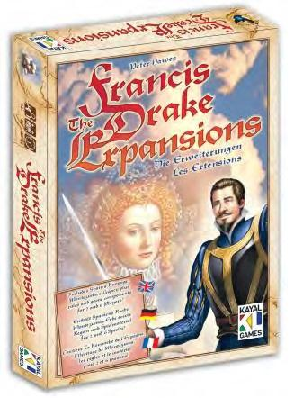 Francis Drake: The Expansions Boxed Set