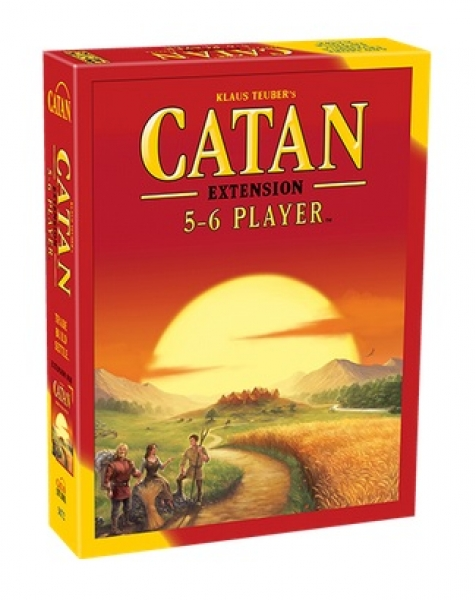 Catan: Core Game 5-6 Player Extension