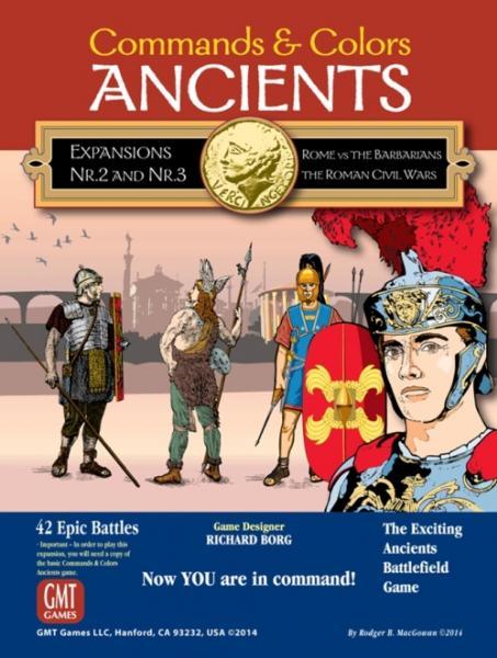 Commands & Colors Ancients Expansion Pack #2/3