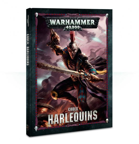 Warhammer 40K: Harlequins Codex (2018)