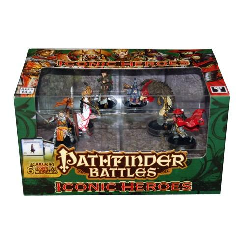 Pathfinder Battles: Iconic Heroes Box Set 3