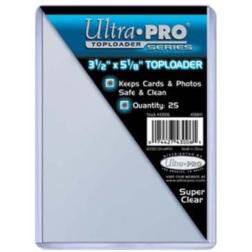 Ultra-Pro: Top Loaders 3-1/2'' X 5-1/8'' (25)