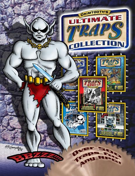 Grimtooth's Ultimate Traps Collection (HC)