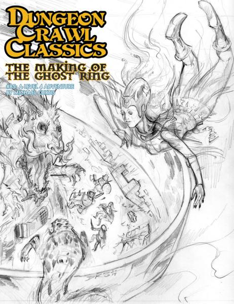 (Adventure) #85 The Making Of The Ghost Ring (Sketch Cover)