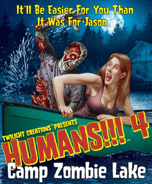 Humans!!! : Camp Zombie Lake
