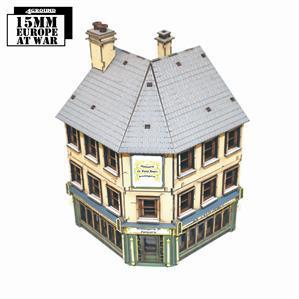 15mm Terrain: Shop 4: Corner Bakery