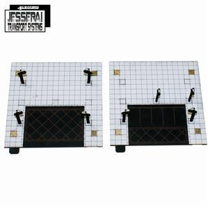 10mm Standard Terrain: Jesserai Transport Sys - Parking/Dead Ends (2)