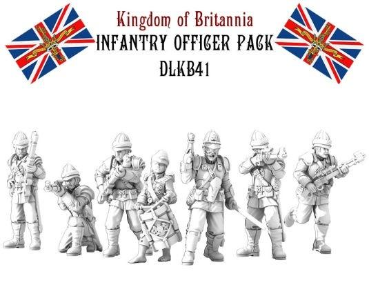 (Kingdom Of Britannia) Infantry Officer Set