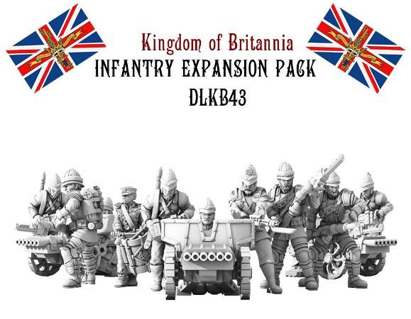(Kingdom Of Britannia) Line Infantry Expansion Set