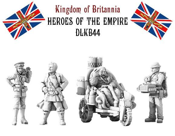 (Kingdom Of Britannia) Heroes Of The Empire Set
