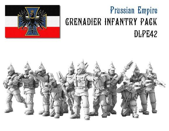 (Prussian Empire) Grenadier Infantry Set