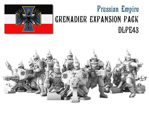 (Prussian Empire) Grenadier Infantry Expansion Set