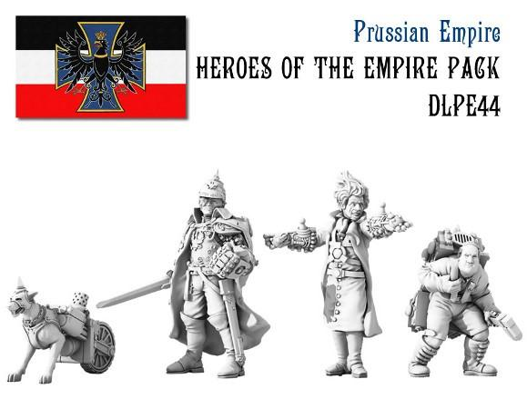 (Prussian Empire) Heroes Of The Empire Set