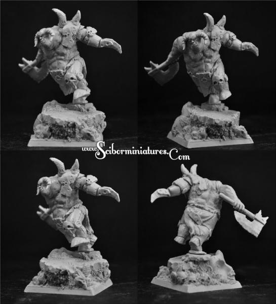28mm Fantasy Miniatures: Beast (1)