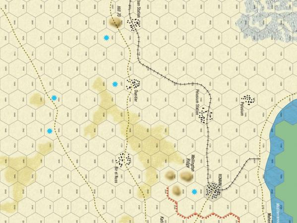 Folio Game Series: WWI Battles : Suez 1916