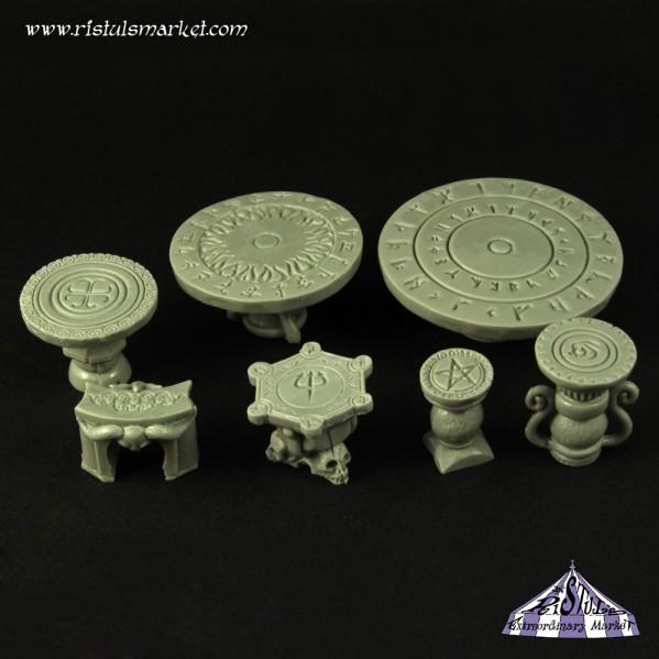 Extraordinary Basing Kits: Runic Tables and Altars (10)