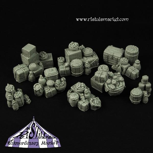 Extraordinary Basing Kits: Food Supplies Terrains