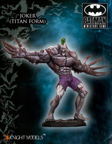 Batman Miniature Game: Joker (Titan Form)