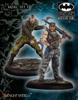 Batman Miniature Game: Mercs Set I