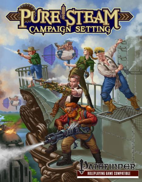 Pathfinder RPG: Pure Steam Campaign Setting