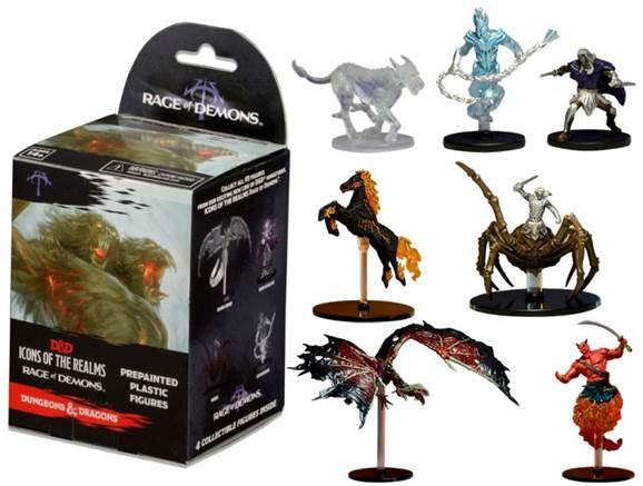 D&D Miniatures: Rage of Demons Booster Pack
