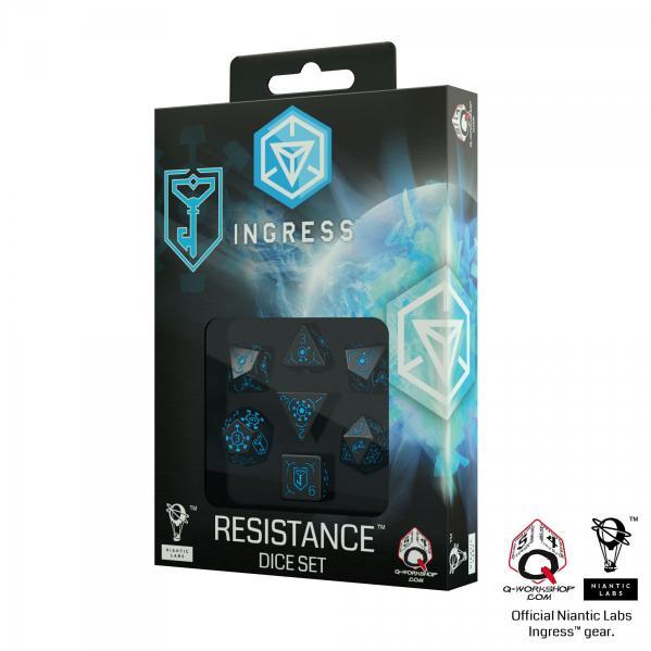 Ingress Dice Set: Resistance (7)