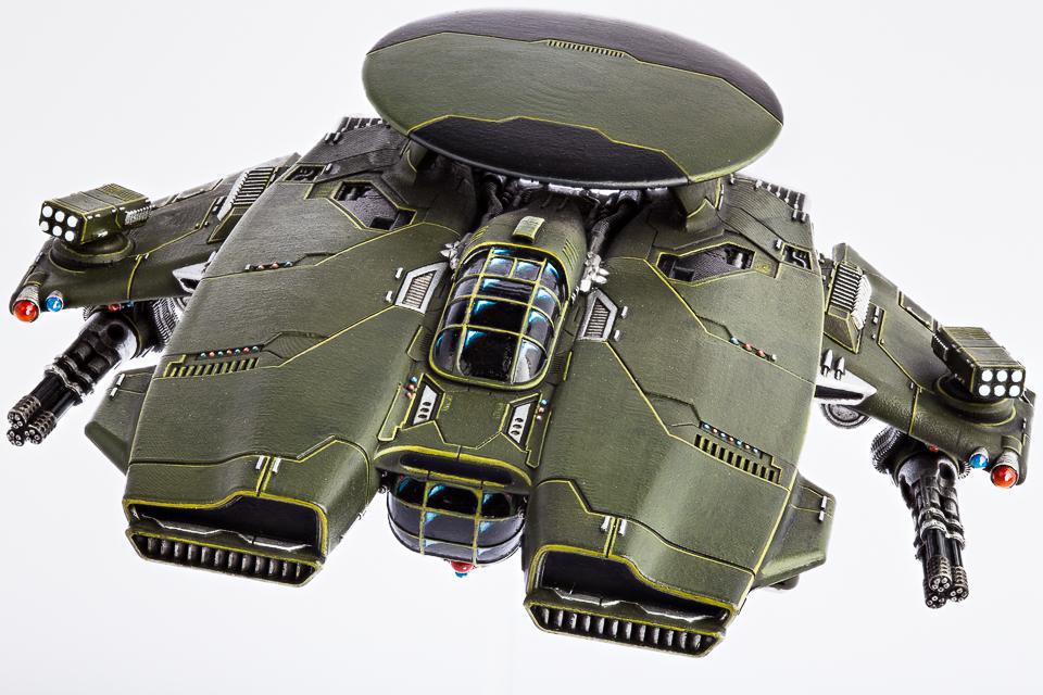(United Colonies Of Mankind) Phoenix Command Gunship