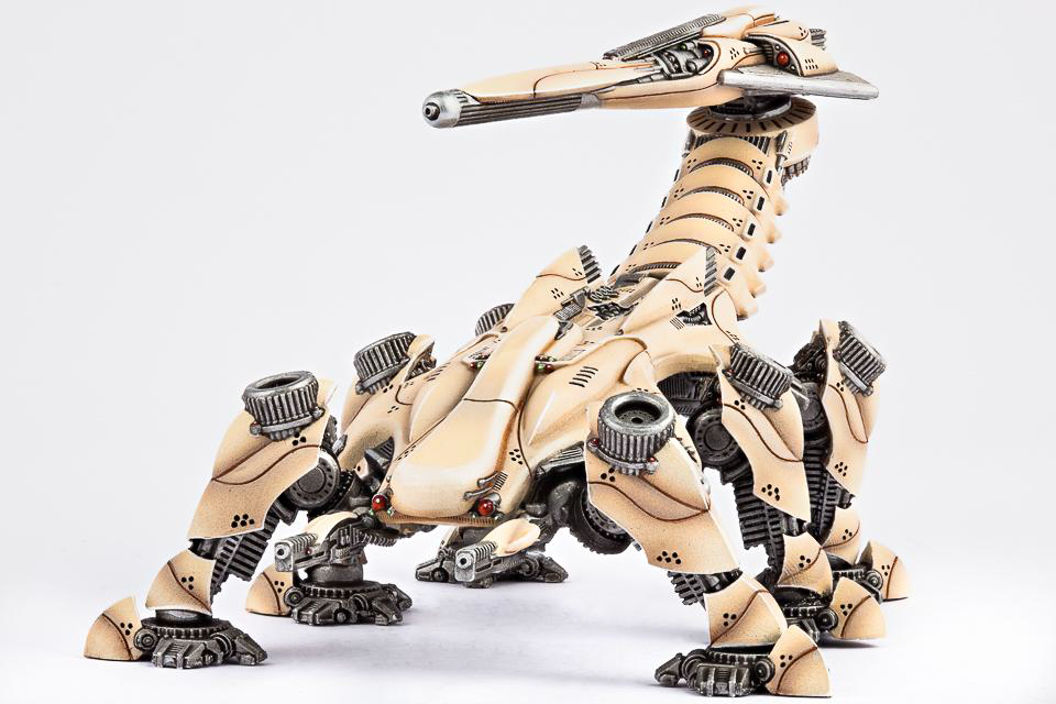 (Post-Human Republic) Nemesis Command Walker