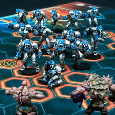 DreadBall - Coporation: Trontek 29er's - Human Team