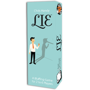 Lie (Gum-sized Box Card Game)