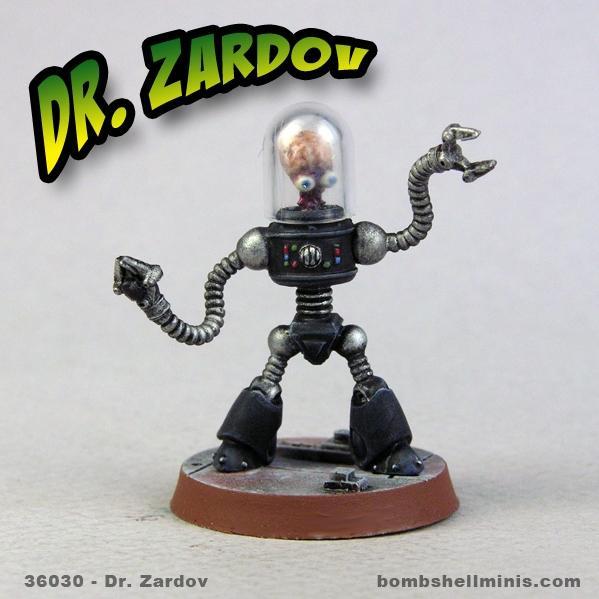 Bombshell Miniatures: Dr. Zardov