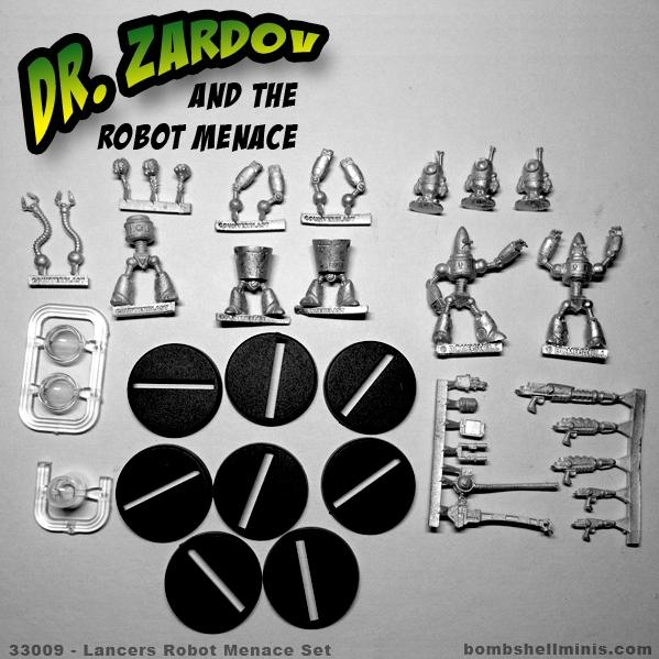 Bombshell Miniatures: Robort Menace